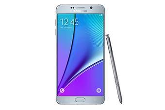 Samsung Galaxy Note5 Dual Sim 4G LTE N9208 (64GB, Silver)