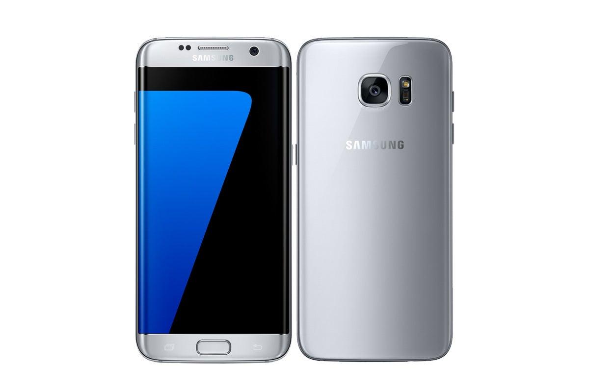 Samsung Galaxy S7 Edge Dual SIM (32GB, Silver)