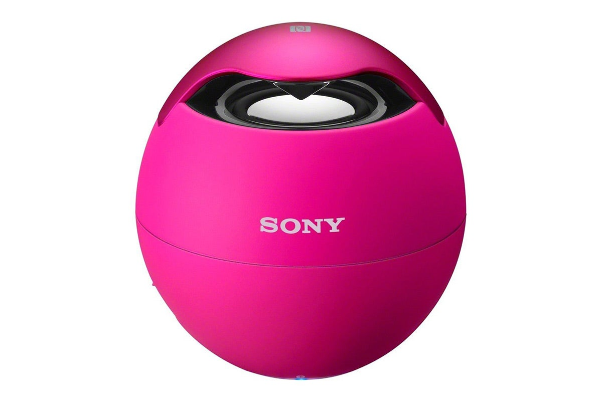 Portable Speakers - Sony Bluetooth Wireless Speaker with NFC - Pink (SRS-BTV5)