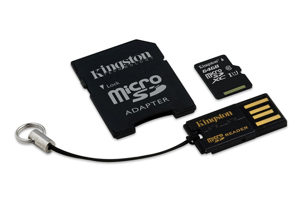 Memory Cards - Kingston 64GB Class 10 Mobility Kit (MBLY10G2/64GB)