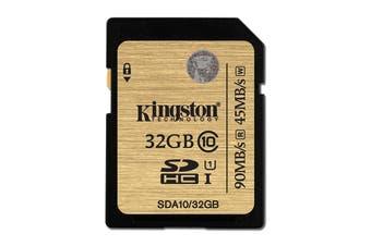 Kingston 32GB SDHC Card Class 10 UHS-I Ultimate (SDA10/32GB)