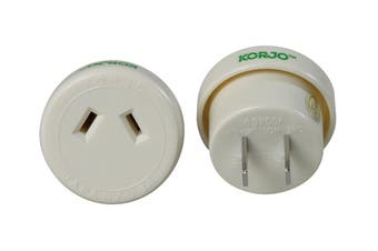 Korjo Single Travel Adapter (Japan)
