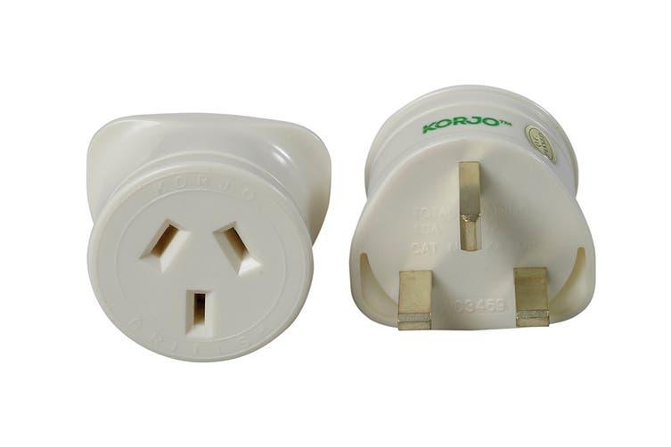 Korjo Single Travel Adapter (UK)