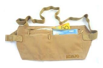 Korjo Money Belt with RFID Blocker