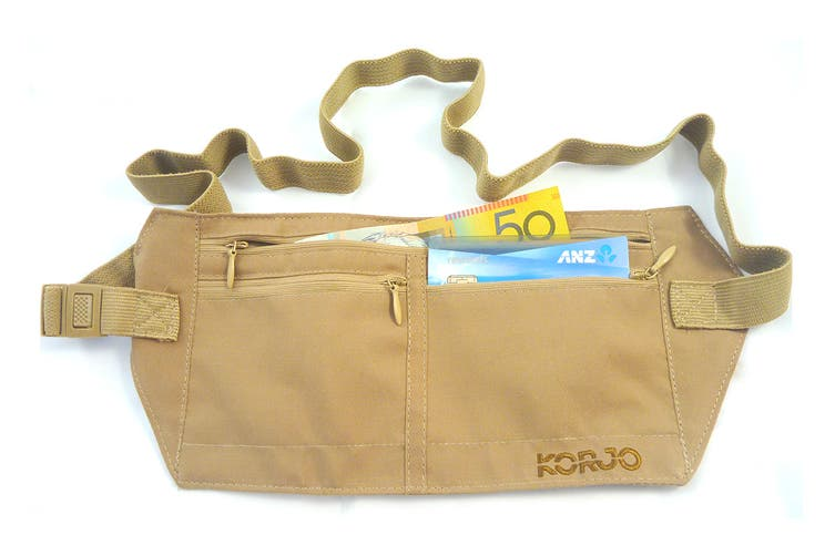 Korjo Money Belt with RFID Blocker