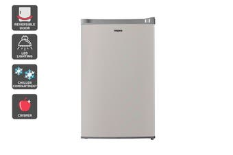 Kogan 129L Bar Fridge - Stainless Steel Finish