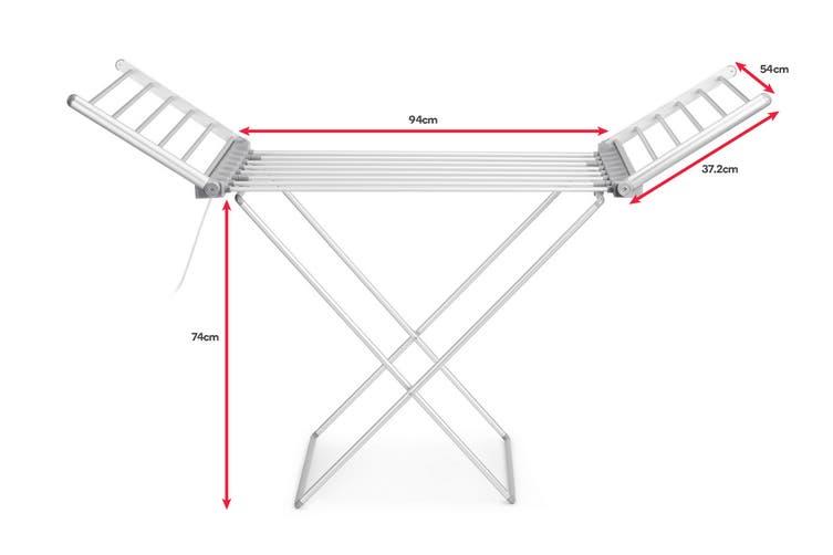 Kromo Heated Drying Rack