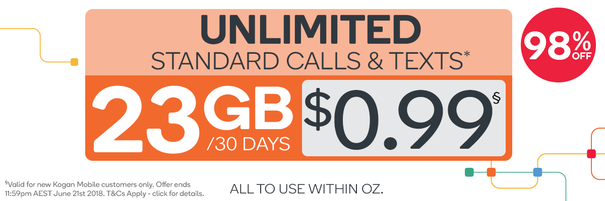 Amazing Kogan Mobile Rates!