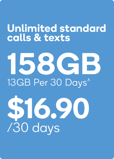 13GB Kogan Mobile PrePaid Plan