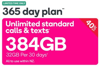 Kogan Mobile Prepay Voucher Code: EXTRA LARGE (365 Days | 32GB Per 30 Days)