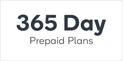 365 Day Prepaid Plans