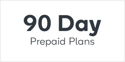 90 Day Prepaid Plans