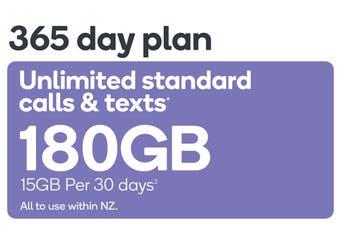 Kogan Mobile Prepay Voucher Code: LARGE (365 Days | 15GB Per 30 Days)