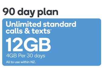 Kogan Mobile Prepay Voucher Code: MEDIUM (90 Days | 4GB Per 30 Days)