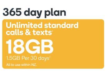 Kogan Mobile Prepay Voucher Code: SMALL (365 Days | 1.5GB Per 30 Days)