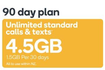 Kogan Mobile Prepay Voucher Code: SMALL (90 Days | 1.5GB Per 30 Days)