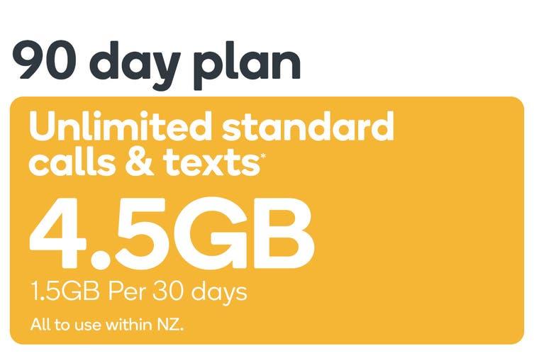Kogan Mobile Prepay Voucher Code: SMALL (90 Days   1.5GB Per 30 Days)