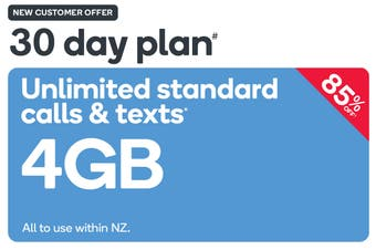 Kogan Mobile Prepay Voucher Code: MEDIUM (30 Days | 4GB) - New Customers Only