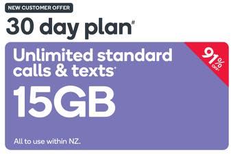 Kogan Mobile Prepay Voucher Code: LARGE (30 Days | 15GB) - New Customer Only