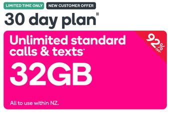Kogan Mobile Prepay Voucher Code: EXTRA LARGE (30 Days | 32GB) - New Customers Only