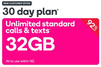 Kogan Mobile Prepay Voucher Code: EXTRA LARGE (30 Days   32GB) - New Customers Only