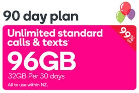 Kogan Mobile Prepay Voucher Code: EXTRA LARGE (90 Days | 32GB Per 30 Days)