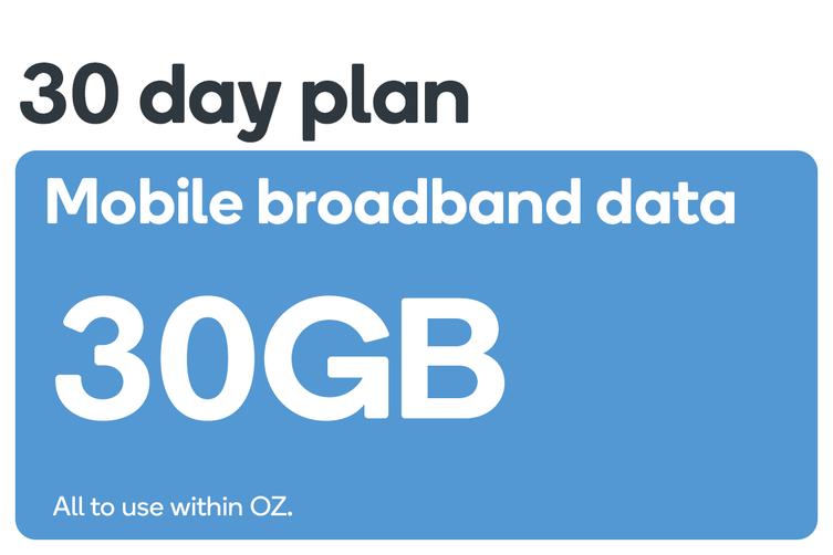 Kogan Mobile Broadband Voucher Code: DATA M (30GB   30 DAYS)