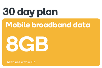 Kogan Mobile Broadband Voucher Code: DATA S (8GB | 30 DAYS)