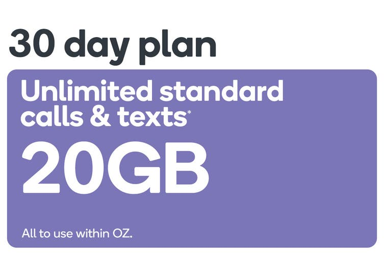 Kogan Mobile Prepaid Voucher Code: LARGE (30 Days | 20GB)
