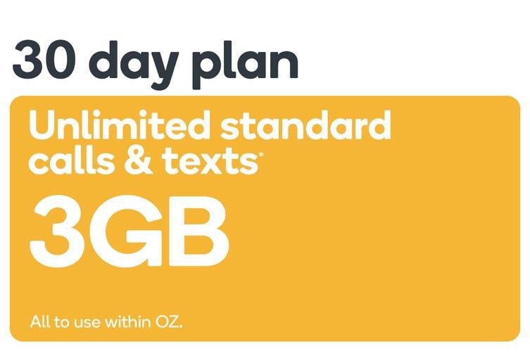 Kogan Mobile Prepaid Voucher Code: SMALL (30 Days | 3GB)