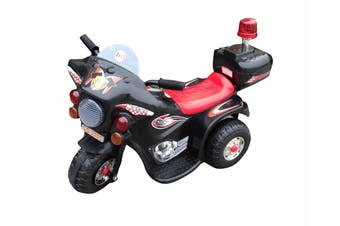 Kids Electric Ride On Motorcycle - Black