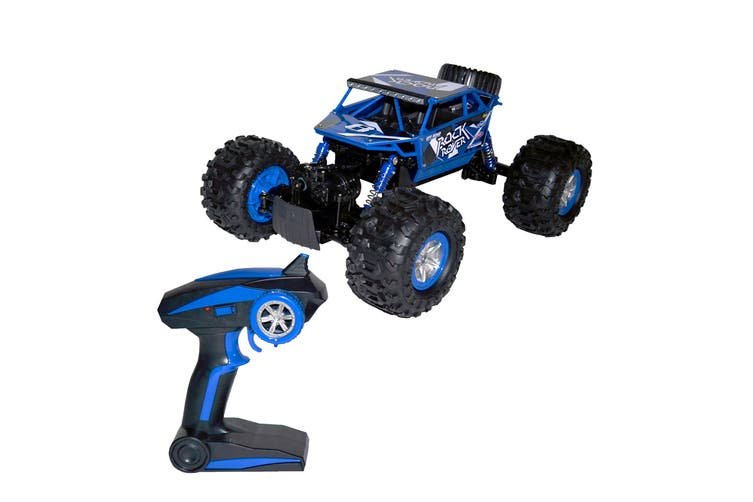 Remote Controlled Amphibious Kids All-Terrain Vehicle - Blue