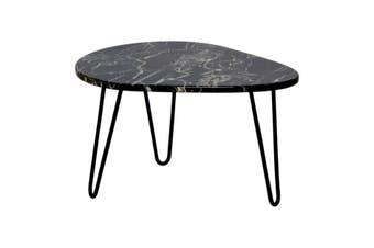 Matt Blatt Kamryn Oval Coffee Table (Faux Marble)