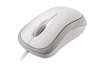 Microsoft Basic Optical Mouse - White (P58-00066)