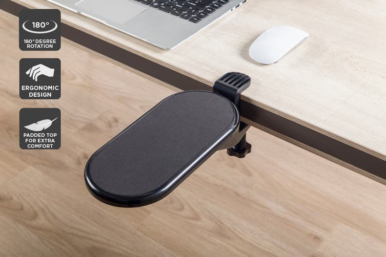Rotatable Office Desk Armrest and Mouse Pad (Small)