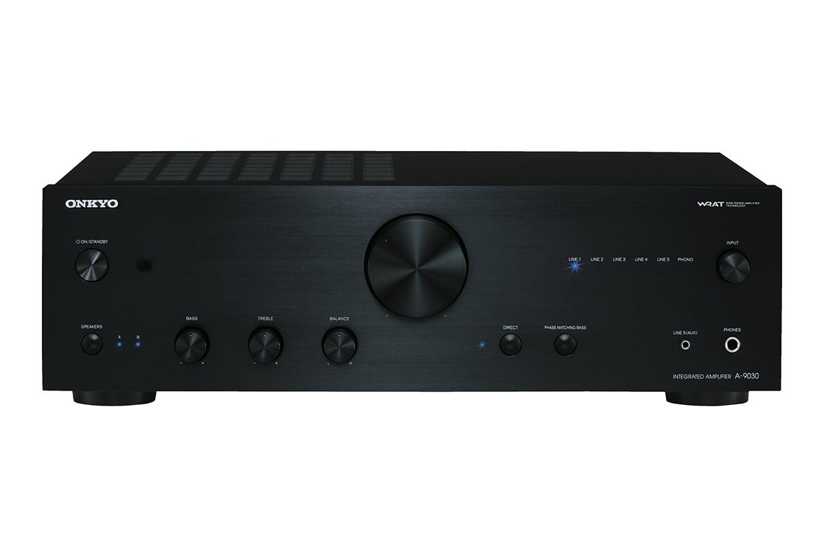 Home Theatre - Onkyo 65W x 2 Channel Integrated Stereo Amplifier (A-9030)
