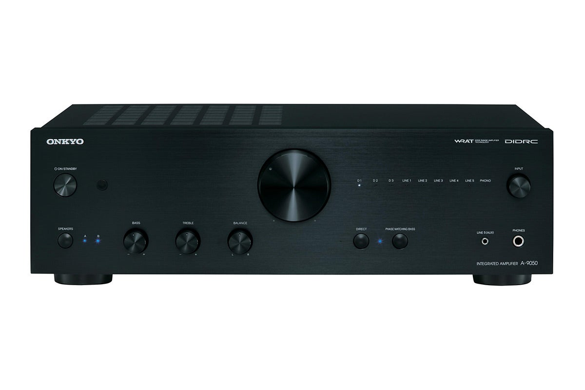 Home Theatre - Onkyo 75W x 2 Channel Integrated Stereo Amplifier (A-9050)
