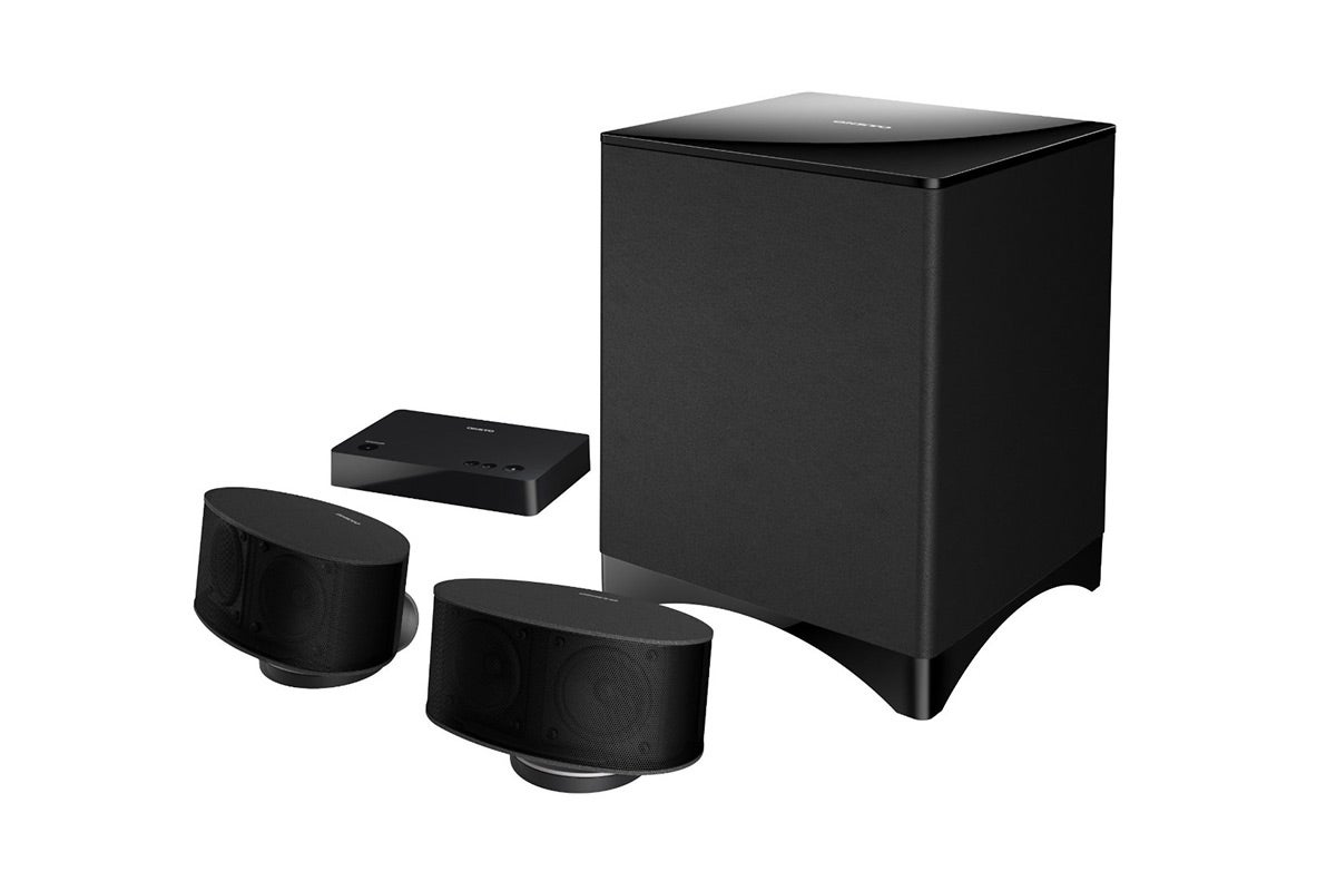Home Theatre - Onkyo Envision Cinema 2.1 Channel Speaker System with Wireless Subwoofer - Black (LS3100B)