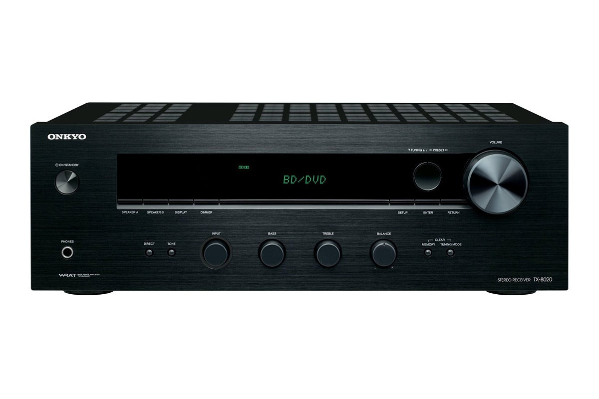 Home Theatre - Onkyo 90W x 2 Channel Network Stereo Receiver (TX-8020)