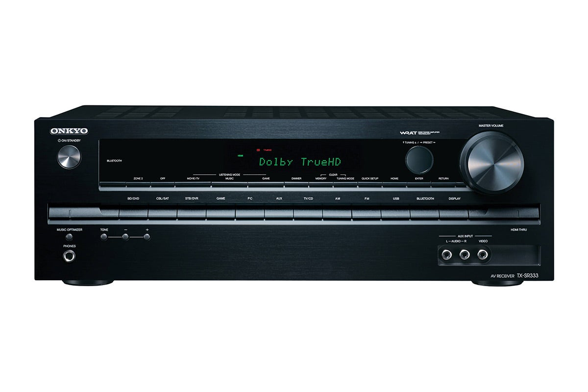 Home Theatre - Onkyo 5.1 Channel 125W Network A/V Receiver with Bluetooth (TX-SR333)