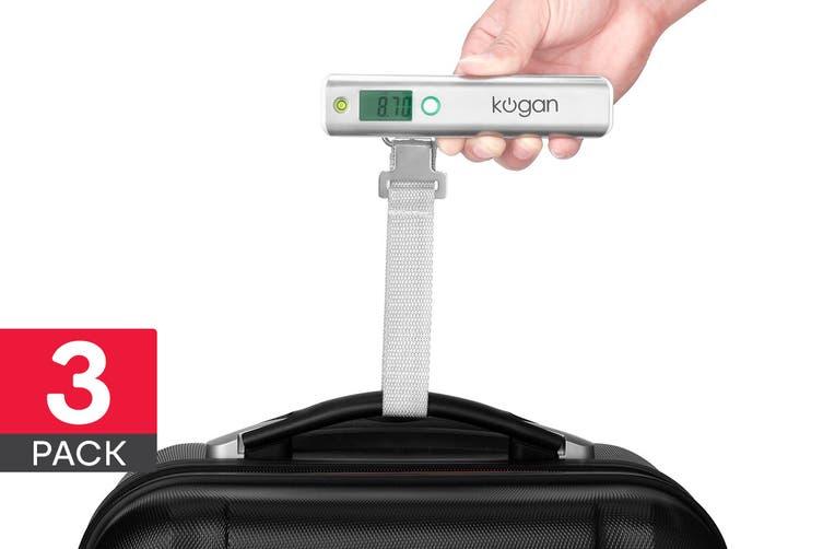 3 Pack Orbis Portable Digital Luggage Scale