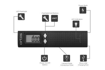 Orbis 3-in-1 Digital Luggage Scale Kit