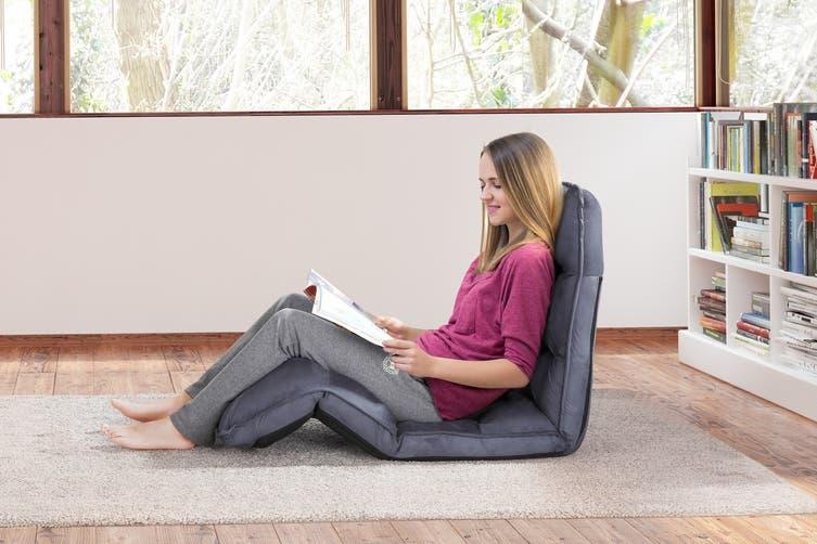 Ovela Adjustable Lounge Chair (Ash Grey)