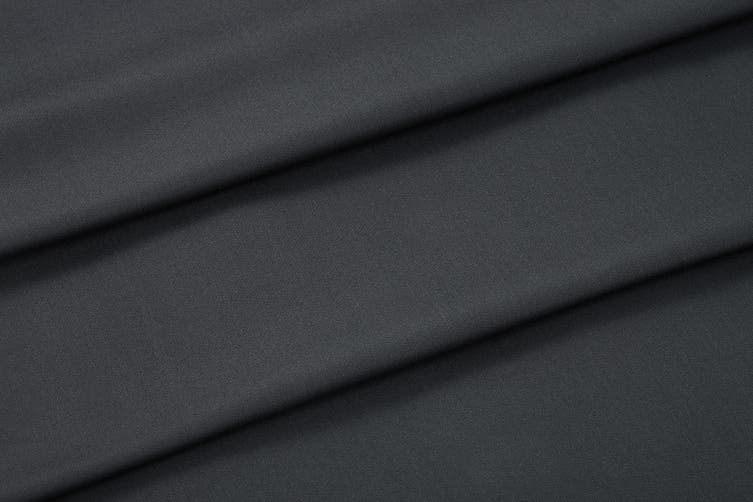 Ovela 100% Bamboo Bed Sheet Set (Double, Charcoal)