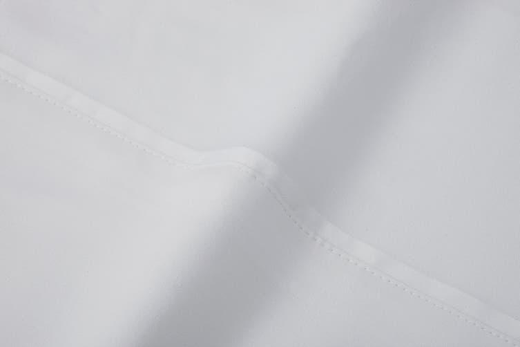 Ovela 100% Bamboo Bed Sheet Set (Queen, White)