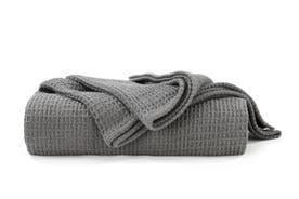 Ovela Cotton Waffle Weave Blanket