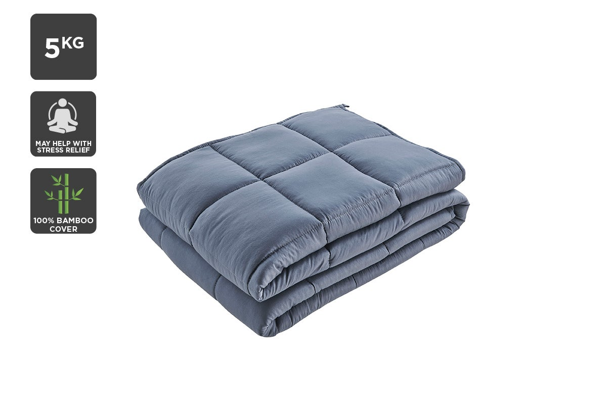 Buying a Weighted Blanket | Ovela Bamboo Weighted Blanket | Beanstalk Single Mums