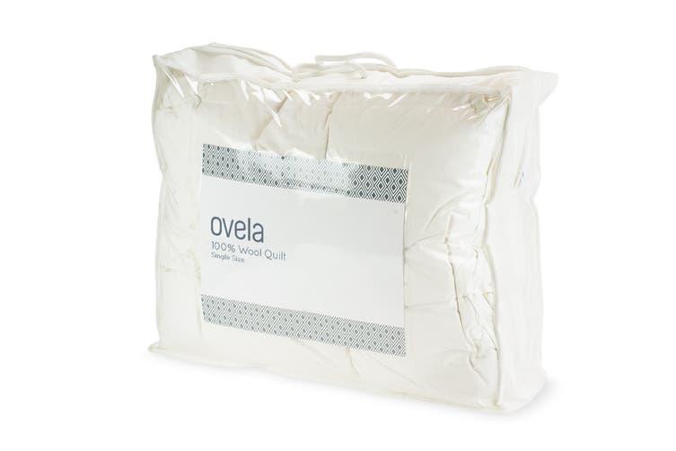 Ovela 100% Australian Wool Quilt (Single)