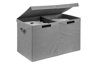 Ovela Felix Foldable Storage Box (Grey)