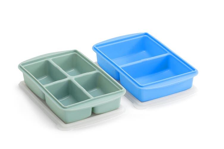 Ovela Food Portioning Silicone Freezer Pod - 250mL and 125mL Set